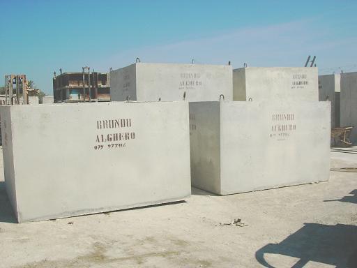 Serbatoio acqua cemento
